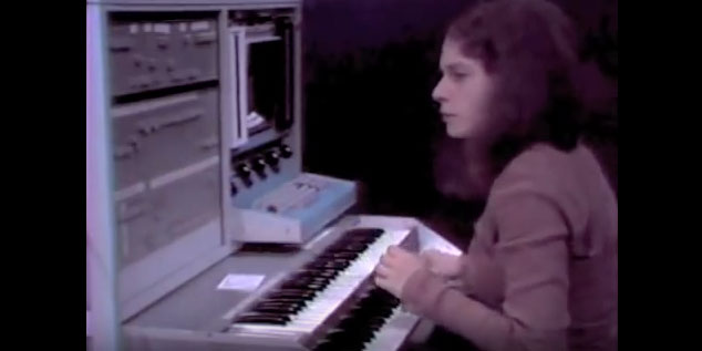 Laurie Spiegel video